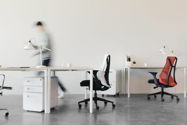 A modern workplace