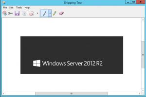 des captures d'écran sur un serveur Windows - example d'une capture d'écran