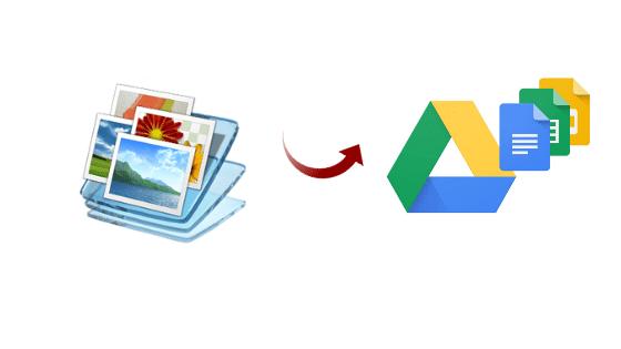 backup photos to google drive