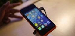 ZTE phone running Firefox OS