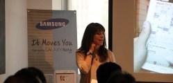 Samsung galaxy note 8 event