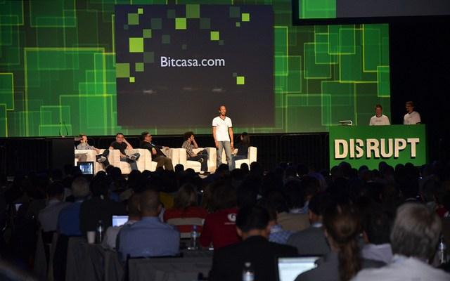 Bitcasa team at Techcrunch Disrupt