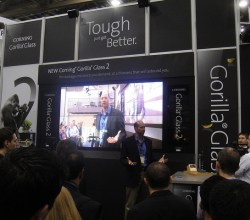 Corning gorilla glass 2 at CES 2012