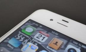 iPhone 4S running iOS 6