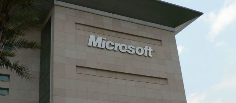 Microsoft Campus Building in Hyderabad