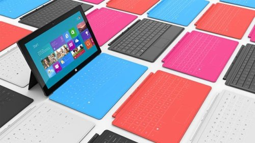 Surface books in all colors