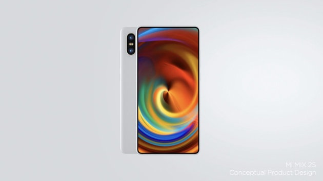Xiaomi Launched It's Bazelless Flagship MI MIX 2S  in China