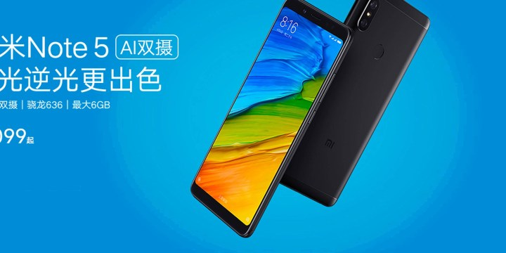 Xiaomi Redmi Note 5 Pro launched in china with PRO features other than indian version