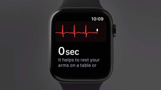 Apple Watch Sereis-4 ECG Monitor