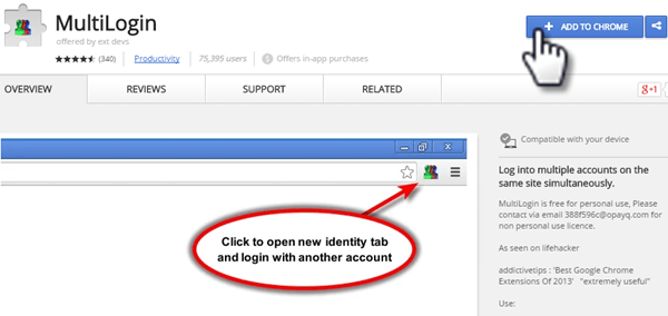 How to use multiple Facebook accounts in side by side tabs ? • Techs