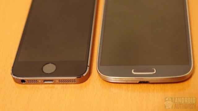 Apple iPhone 5s vs Samsung Galaxy S4 aa 5