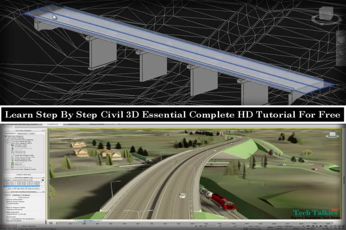 Free Download Civil 3D Essential Complete HD Tutorial