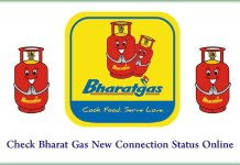 Check Bharat Gas New Connection Status Online