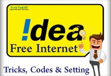 IDEA 2G 3G 4G Unlimited Free Internet Data Pack Trick Code and Setting