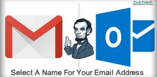 Select A Name For Your Personal Email Address