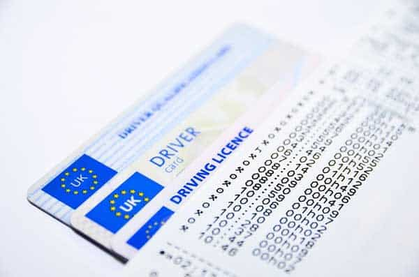 Driving Licence Number Format Uk - On Log Wall