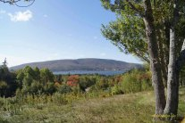 View from Whycogomah Park Cape Breton