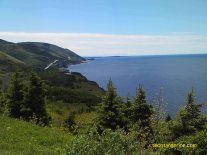 View of Cabot Trail Cape Breton