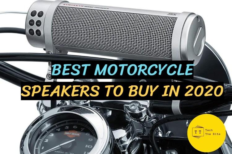 Best Motorcycle Speakers To Buy in 2020