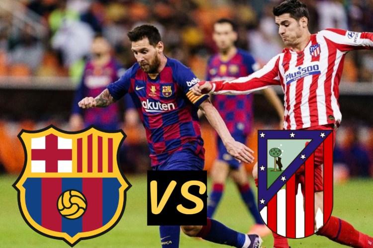 FC barcelona vs Atlético Madrid