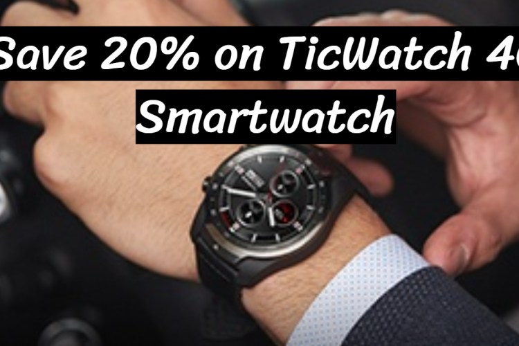 Top 3 TicWatch 4G Smartwatch of July 2020