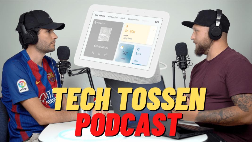 Tech Tossen Podcast - Anmeldelse af Google Nest Hub 2. (Foto: Tech Tossen)