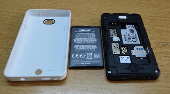 Asha 501 Battery