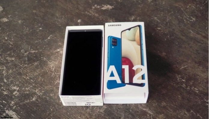Samsung A12 Unboxing Hands On And First Impression