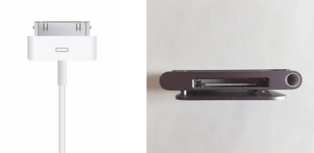 30-pin connector and iPod Nano