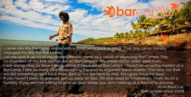 barcamp-kerala-arun-basil-lal