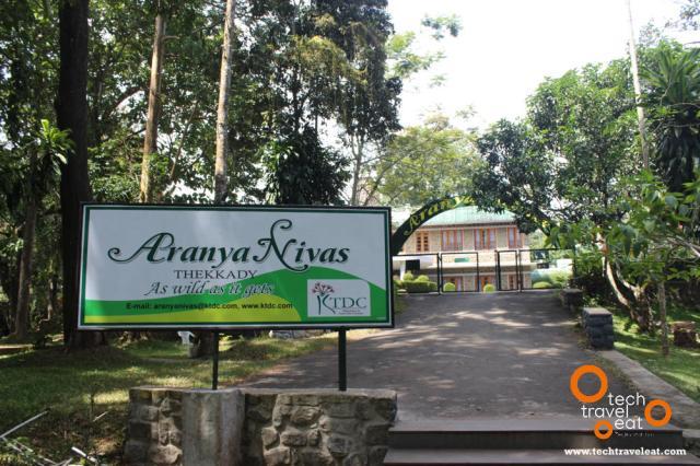 KTD Aranya Nivas - Entrance from Boat Landing Area