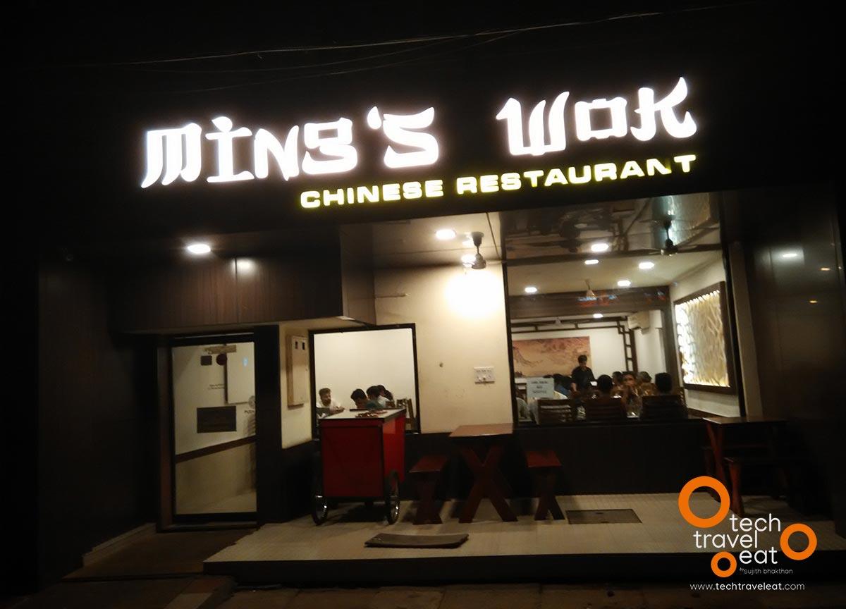 Ming S Wok Chinese Thai Restaurant Kochi Review Menu