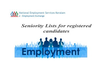 How to Check the Seniority List of Employment Exchange, Kerala