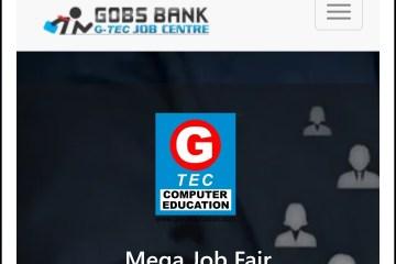 G-Tec Mega Job Fair at K.G College, Pampady