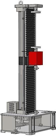 Single Column tensile test machine 1