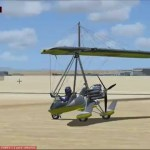 Primer Despegue en Ultraligero Air Creation Buggy 582SL Trike Tutorial 1 Flight Simulator X HD