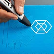 draw 3d pen mat