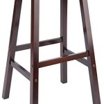 Winsome 94089 Satori Stool, 29″, Walnut