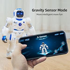 Gravity Sensor Control