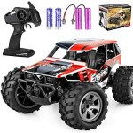 Remote Control Car, TREYWELL RC Cars Remote Control Truck, 2.4GHZ 1:18 Fast Racing Monster Car, Off Road Radio rc Cars for Boys with 4 Batteries for Kids Teens Adults Toys for 4,5,6,7,8,9,10 Years Old