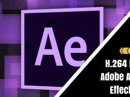 H.264 FixAdobe After Effects
