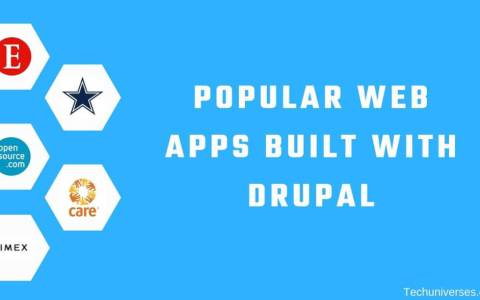 Popular Web Apps Built with Drupal