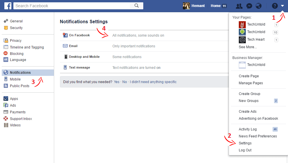 How To Turn On Birthday Notifications On Facebook In 2021 Techuntold