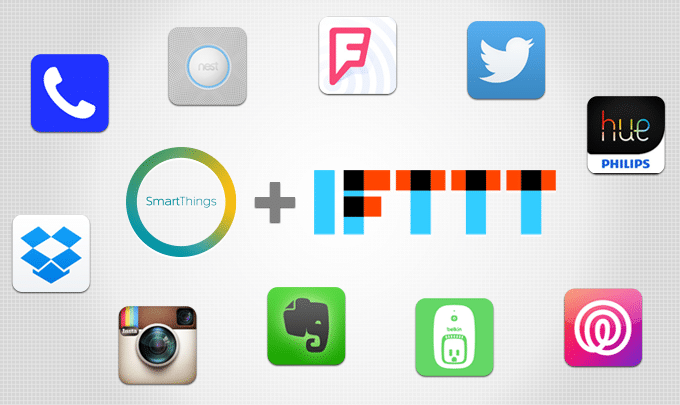 Smart things IFTTT