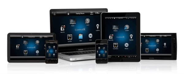 Control4 home automation apps