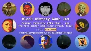 black History Jam 2017 Flyer