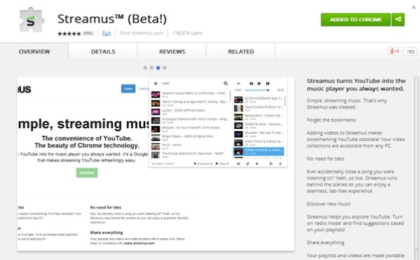 streamus-for-chrome