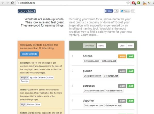 wordoid-domain-name-generator