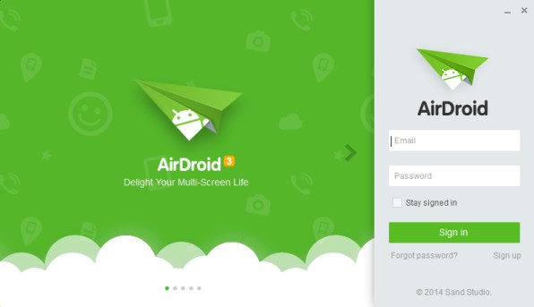 login-into-airdroid