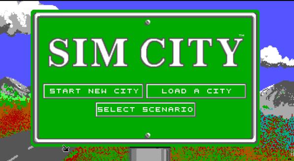 sim city ms dos